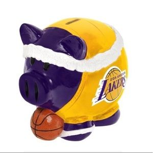LA Lakers Collectible Piggy Bank